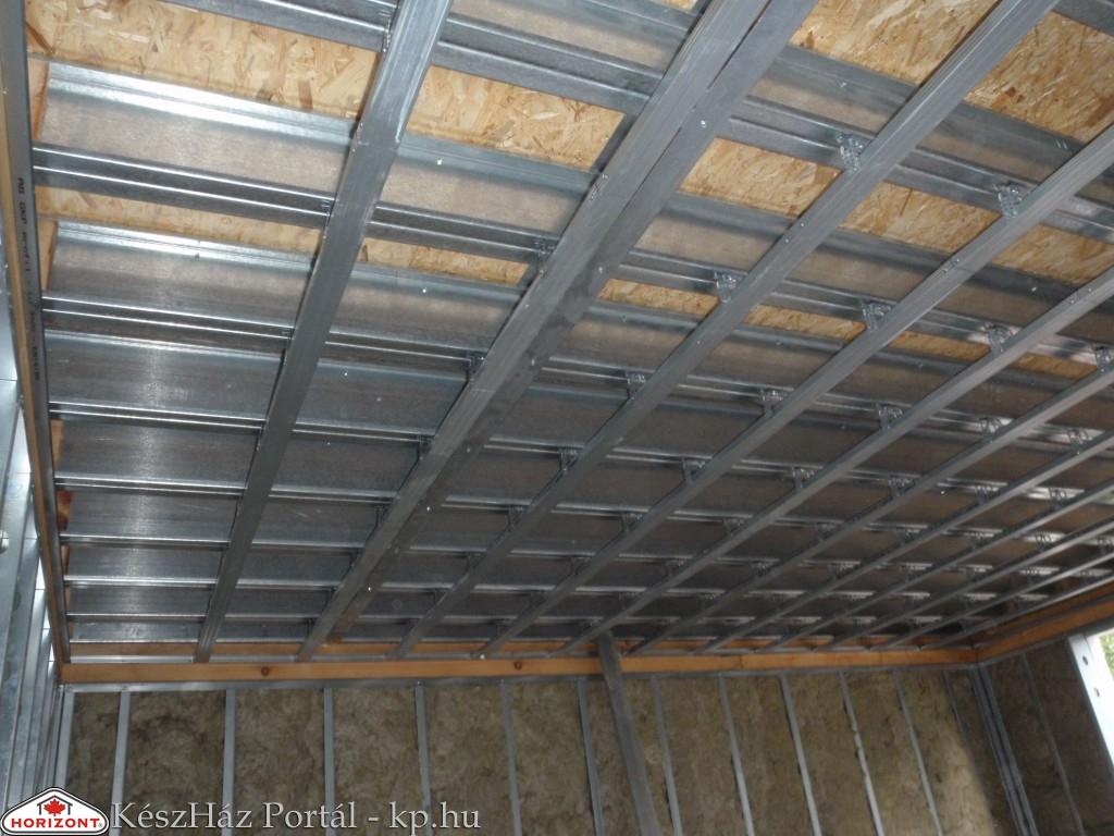 Photo of Készház építés. 17-18. nap. EnergyFriendHome készház álmennyezet szerelése