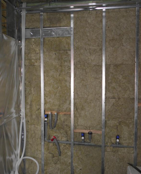 Photo of Könnyűszerkezetes ház belső hőszigetelése, gipszkartonozása 23-35. nap