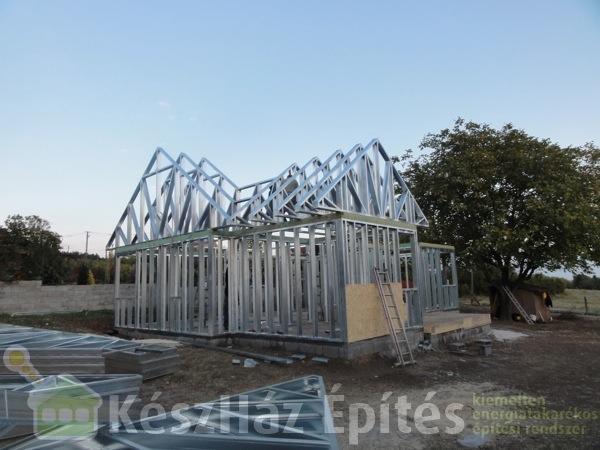 Photo of Készház acélszerkezetének felépítése 1-6 nap