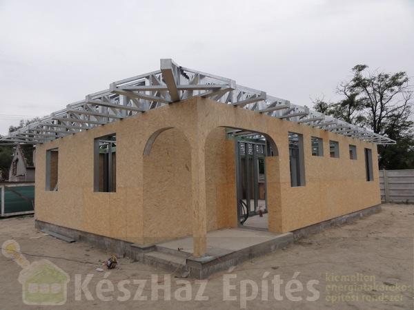 Photo of Könnyűszerkezetes ház acélszerkezet építése Szlovákiában