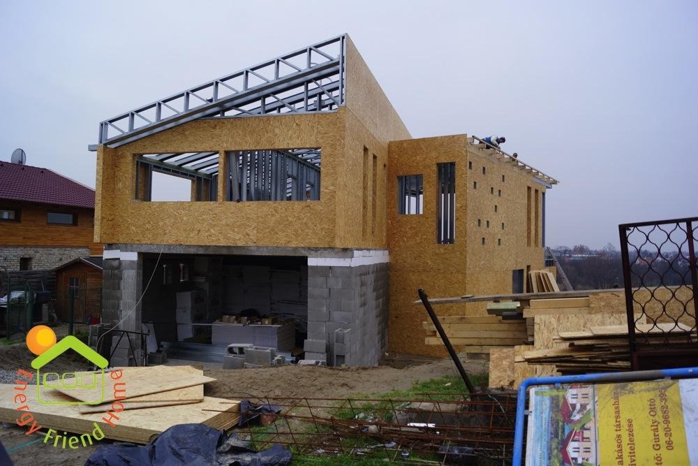 Photo of Könnyűszerkezetes acélvázas minimál ház vázszerkezetének építése