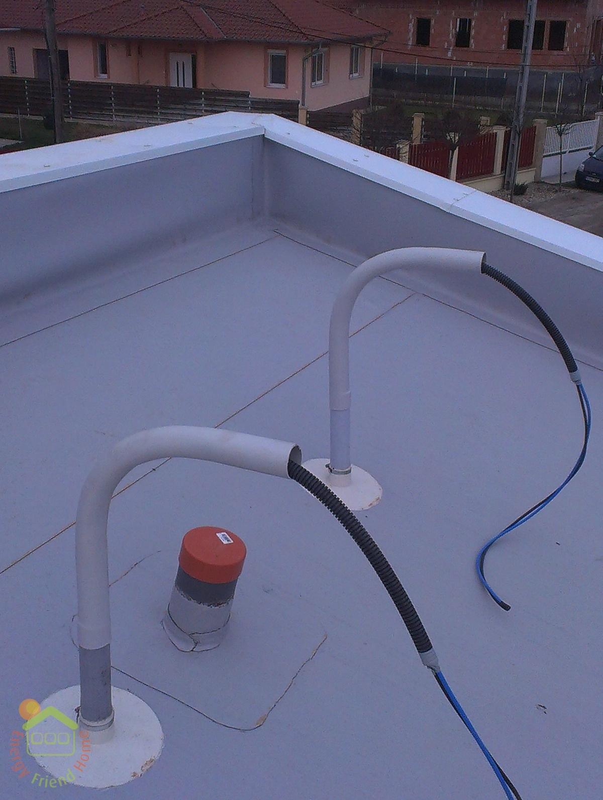 Photo of Könnyűszerkezetes ház lapos tető víz és hőszigetelése 11-16. nap